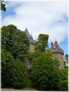 chateau de Combourg. bretagne