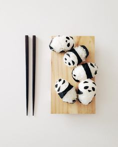 Flashback Friday , to when I decided to make panda onigiri 🍙🐼 Cute Food, Old And New, Photo And Video, Panda, How To Make, Instagram, Friday, Recipes