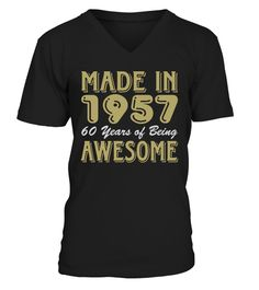 Made In 1957 60 Years of Being Awesome humanrights T-shirt