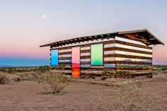 11 Spectacular Mirrored Buildings Photos   Architectural Digest - LUCID STEAD, JOSHUA TREE NATIONAL PARK, CALIFORNIA (=)
