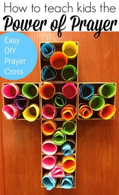 Easy Breezy Sunday School: Prayer Cross