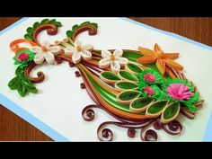 What is Paper Quilling ? #PaperQuilling is a terrific craft for beginners . It's easy to learn , inexpensive and loads of fun,I have made so many beau...