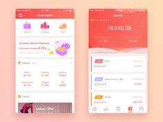 感谢@肉圆子 http://821409874.zcool.com.cn/ 老大的帮助 As stock and fund, green is up and red is fall,But it's just the opposite in China.