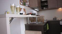 Kuchyňa svetlá vybavenie - BMV Kuchyne Corner Desk, Bar, Table, Furniture, Home Decor, Corner Table, Decoration Home, Room Decor, Tables