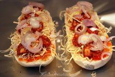 Zelfgemaakt pizzabroodje - Keuken♥Liefde
