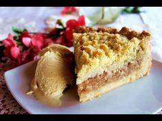 Crumble tart cu mere   Farfuria vesela - YouTube
