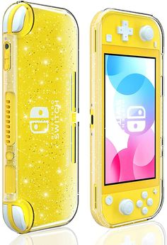 Crystal Glitter Case for Nintendo Switch Lite, Clear Shiny Sparkly TPU Cover for Switch Lite Nintendo Lite, Nintendo Switch Case, Nintendo Wii Controller, Super Nintendo, Cool Car Accessories, Nintendo Switch Accessories, Electronics Accessories, Cool Pictures For Wallpaper, Videos Kawaii