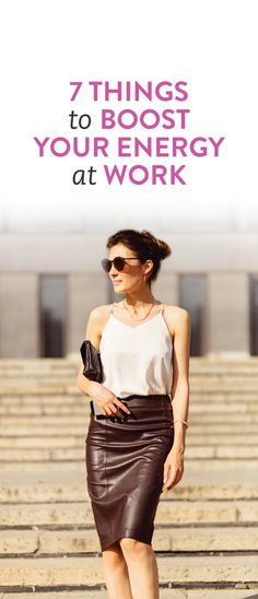 how to be less tired at work and avoid the afternoon slump #career #energy