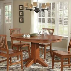 40 best dining room images on pinterest towels linens for Arts and crafts 5 piece dining set
