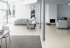 Limestone Collection - LM 01 lime white | #Architecture  #Design #Ceramics #Tiles #Ecology #White #Living_room #Floor #Modern