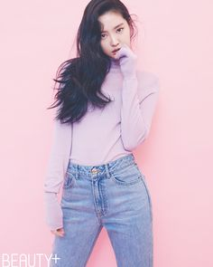 Naeun (A Pink) - Beauty+ Magazine November Issue Korean Women, Korean Girl, Korean Idols, Korean Style, Kpop Girl Groups, Kpop Girls, Fashion Models, Girl Fashion, Apink Naeun
