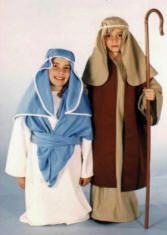 how to make mary and joseph costumes