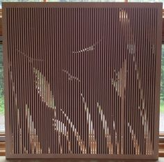 38 best perforated wood art panels images in 2019 panel - Best way to soundproof interior walls ...