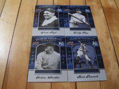 Herb Pennock Urban Shocker Wally Pipp Waite Hoyt 08 UD Yankee Stadium Legacy Lot | eBay #baseballcardlots #sportscards #Yanks