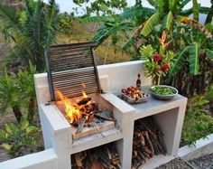 10 Awesome Concepts Of How To Build Backyard Bbq Area Design Ideas in 12 Genius Ways How to Craft Backyard Grill Ideas Barbeque Design, Grill Design, Barbecue Grill, Pit Bbq, Backyard Patio, Backyard Landscaping, Landscaping Ideas, Patio Ideas, Backyard Ideas