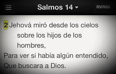 Dios vela constantemente sobre quienes le buscan cada día #Promesa Salmo 14:2