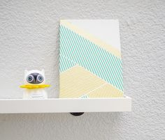 see that there: DIY :: washi tape art