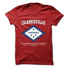 Clarksville - Arkansas - Its ୧ʕ ʔ୨ Where My Story ᗕ Begins !Multiple styles available. Arkansas