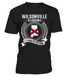 Wilsonville, Alabama Its Where My Story Begins T-Shirt #Wilsonville