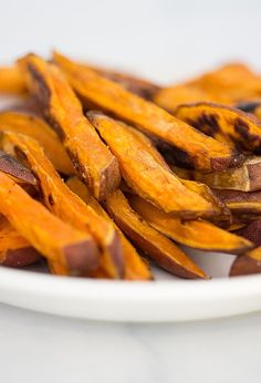 Oven Roasted Sweet Potato Fries Recipe by Cook Smarts
