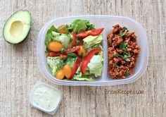 images of healthy protein lunches | ... healthy week lunch series focuses on protein and healthy fat only
