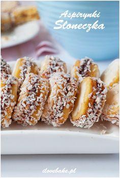 Ciastka słoneczka (aspirynki) - I Love Bake Doughnut, Cookies, Baking, Sweet, Desserts, Recipes, Technology, Food, Crack Crackers