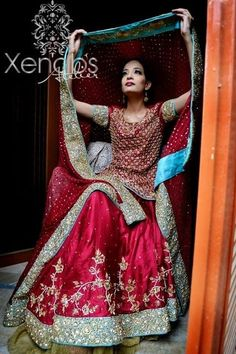 Bridal Lehenga Designs 2014 for Girls 010