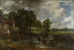 John Constable The Hay Wain painting is available for sale; this John Constable The Hay Wain art Painting is at a discount of off. Landscape Art, Landscape Paintings, Oil Paintings, Romanticism Paintings, Landscapes, Nature Paintings, Animal Paintings, John Constable Paintings, National Gallery