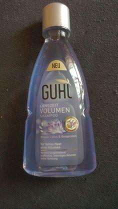 Simones Produkttest: Guhl Shampoo