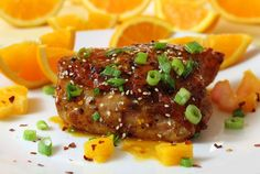 Bursting with flavors! Easy and awesome recipe with all-natural ingredients! Paleo Asian Orange Chicken