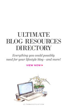 The ultimate best blogging tools and resources A-Z directory #blog #writing #amwriting