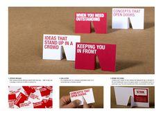 STRIK Creative Concept Control: Business cards
