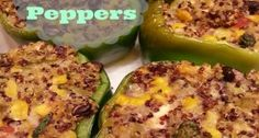 How to Make Quinoa Stuffed Peppers