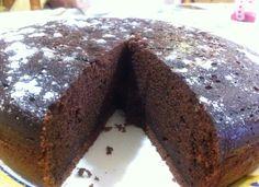 Bizcocho de chocolate y calabacin para #Mycook http://www.mycook.es/receta/bizcocho-de-chocolate-y-calabacin
