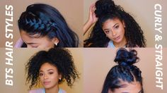 Back to School Hairstyles Curly & Straight [Video] - http://community.blackhairinformation.com/video-gallery/natural-hair-videos/back-school-hairstyles-curly-straight-video/