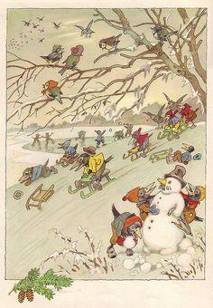 Snow business, by Fritz Baumgarten