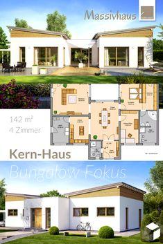 Modernes Einfamilienhaus Von Kern Haus ➤ Erhalte Alle Infos Zum Haus Mit  Einem Klick Auf