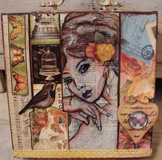 My Art Journal: Collaging and Assembling