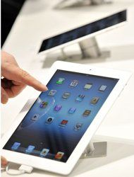 consumers on the new ipad