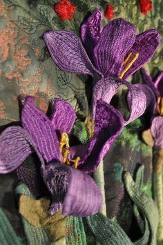 art quilt cotton and felt - Google Search