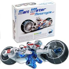 Salt Water Fuel Cell Motorcycle Toy