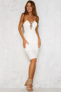 Twinning Dress White