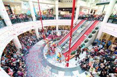 Confetti Master Blaster used for the Anniversary of Meadowhall shopping centre Confetti Gender Reveal, Dramatic Effect, Wedding Confetti, Special Effects, 25th Anniversary, Centre, Romantic, Travel, Life