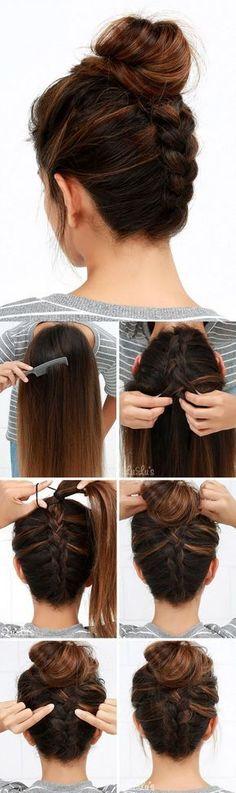 Pony Hairstyles For Medium Length Hair 2018