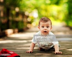 Stock Photo : Baby boy goes to the park