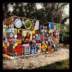 Casa Rio De Colores Liberty Hill, TX Work outhouses and showers...so cool