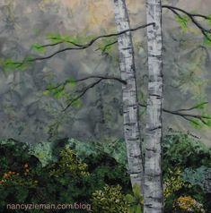 Nancy Zieman Landscape Quilt Block for Quiltmakers 100 Blocks Volume 10