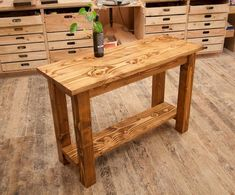 Best Garden Decorations Tips and Tricks You Need to Know - Modern Wood Sofa Table, Farmhouse Sofa Table, Rustic Sofa Tables, Rustic Kitchen Tables, Solid Wood Table, Solid Wood Furniture, Rustic Furniture, Entryway Tables, Wooden Tables