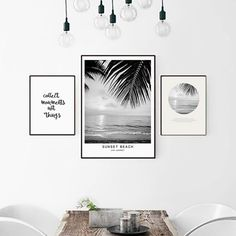 Beach Landscape Canvas Art Print Painting Poster, Nordic Style Wall Pictures for Home Decoration, Wall Decor BW003-in Painting & Calligraphy from Home & Garden on Aliexpress.com | Alibaba Group | @giftryapp