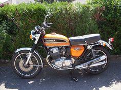 Honda 750 Four by Volvo-Turbo, via Flickr